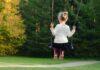 Huśtawka dla dzieci ogrodowa